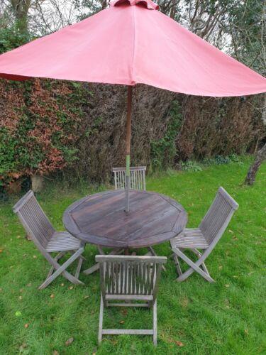 Garden Furniture - Garden furniture set teak no reserve