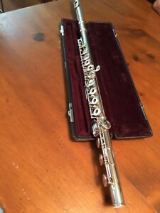 Beautiful Pure Silver Flute