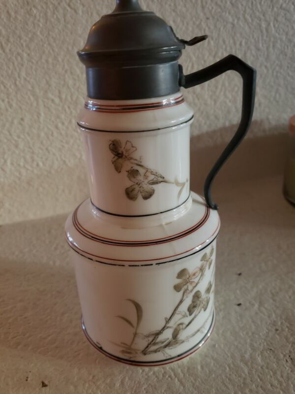 SALE! Beautiful Antique Syrup Pitcher...PRICE REDUCED!!