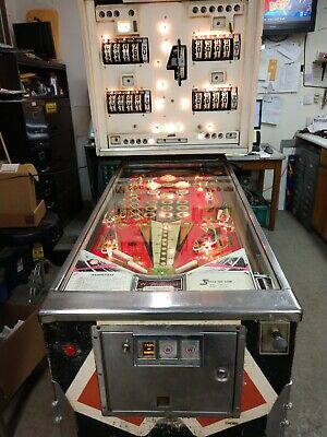 Williams Dealers Choice Pinball Machine 4 Player Coin Operated Kokomo, Ind.