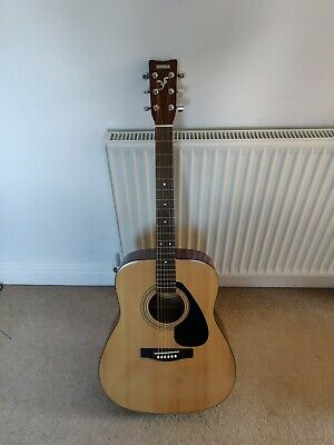 Yamaha F310 Acoustic Guitar with case, DVD, tuner plus LOTS OF EXTRAS