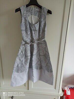 Jonathan Saunders Cotton Silk Mix Dress Size 36 UK 8