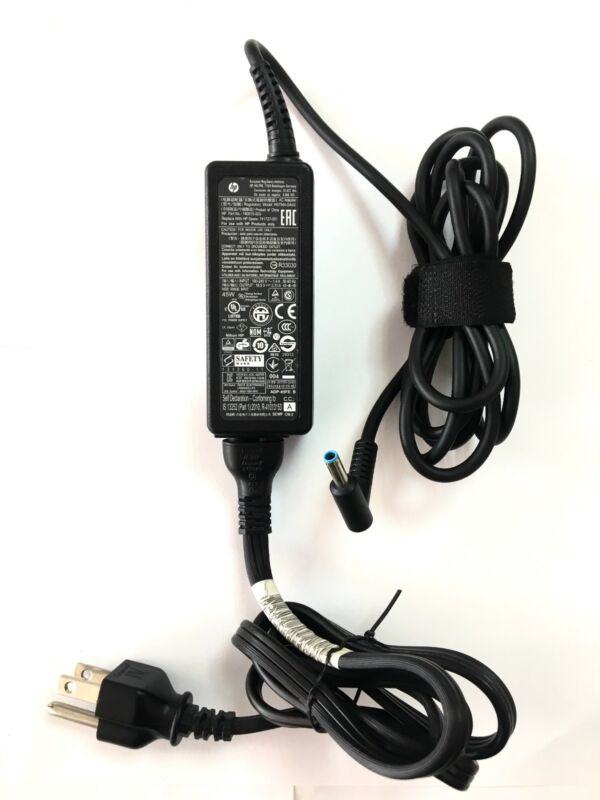 Genuine HP  45W blue laptop AC Adapter Power Supply charger , 19.5V  3000+ sold!