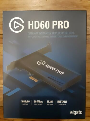 NEW Elgato HD60 Pro Game Capture Card