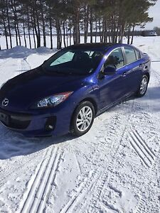 2013 Mazda 3 GS-SKY,LUXURY LEATHER AND SUNROOF