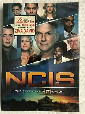 NCIS Naval Criminal Investigative Service Season 17 (DVD 5 Disc) New&Sealed Free