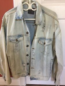 New Men's Zara jean jacket