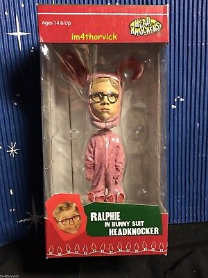 A Christmas Story Ralphie In Pink Bunny Suit Headknocker NECA](Ralphie In Pink Bunny Suit)