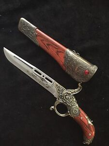 Gun hilt dagger- decorative
