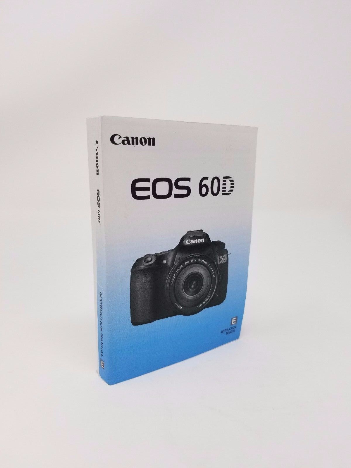 Canon EOS 60D Instruction Owners Manual Book NEW