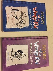 Diary of a Wimpy Kid + BOOKS
