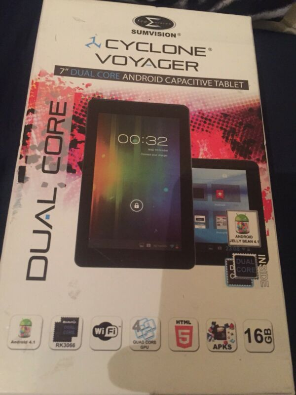 Sumvision+Cyclone+Voyager+7%E2%80%9D+Wifi+Tablet+Dual+Core+Android+Tablet+16gb+New+Boxed