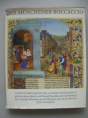 Münchener Boccaccio 1966 Neun Bücher vom Glück Unglück berühmter Männer Frauen