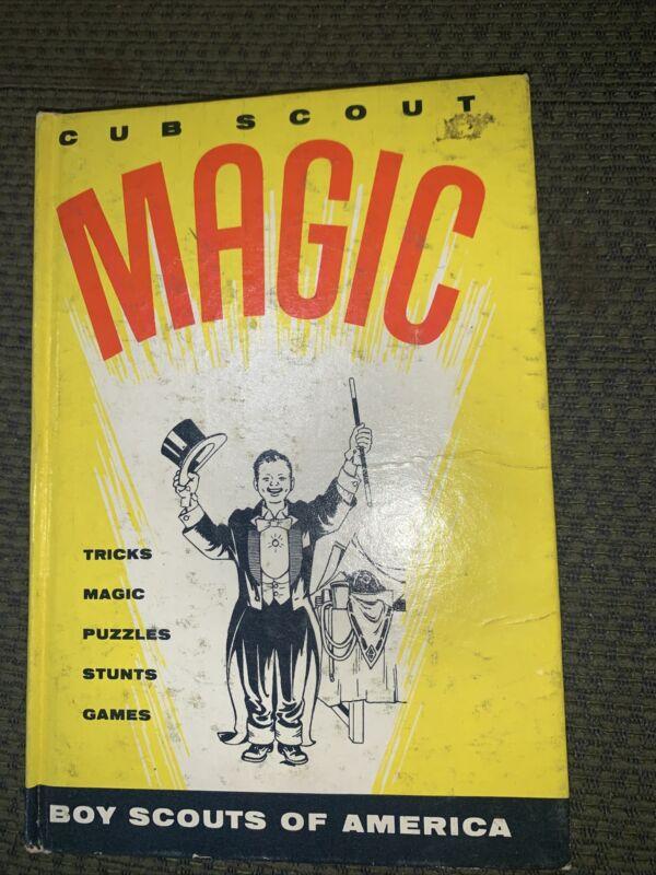 1960 Boy Scout Cub Scout Magic Book BSA