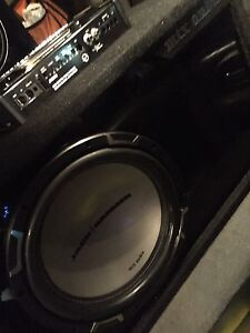"^^** MTX 12"" JACKHAMMER SUB IN BOX WITH AMP!"