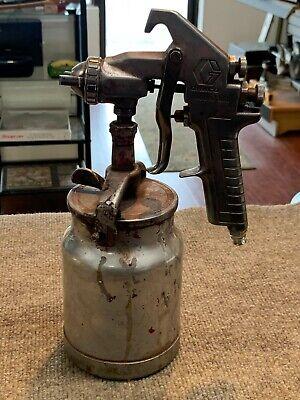 Nice Graco Model 800 Air Spray Gun W Siphon Cup