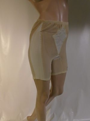 Vintage Warner's Beige Panty Girdle Size Small Waist 24-30 Length 15