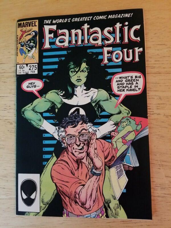 Fantastic Four #275 Comic Book 1984 Marvel Key Issue John Byrne She-Hulk Sexy