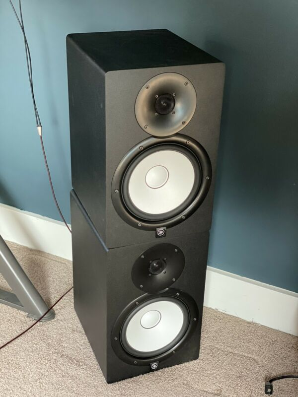 Yamaha HS8 Studio Monitor Speakers Black (Pair)