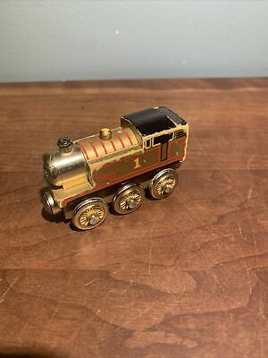 Thomas & Friends Wooden Railway Train GOLD Limited 60 YEAR EDITION Tank Engine