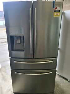 WHAT A WHOPPER 🍔 SAMSUNG 680L SILVER FRENCH DOOR FRIDGE FREEZER