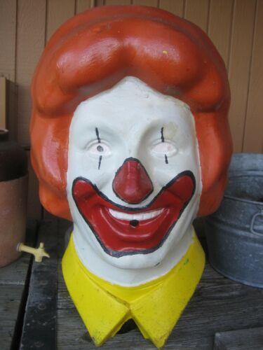 Vintage Rare 1977 Ronald McDonald