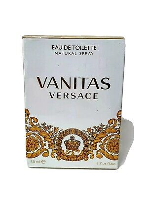 GENUINE Versace Vanitas 50ml Women Eau De Toilette Spray Genuine NEW and SEALED