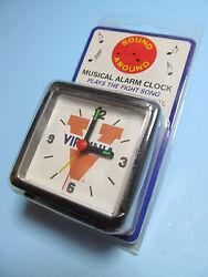 NCAA Virginia Cavaliers Mini Travel Alarm Clock Officially Licensed Product NIP
