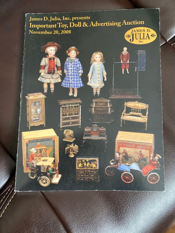Important Toy Doll DollHouse Advertising Julia auction catalog