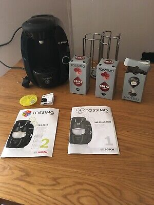 Bosch Tassimo CTPM02 Capsule Pod Coffee Machine - PODS & POD Storage!