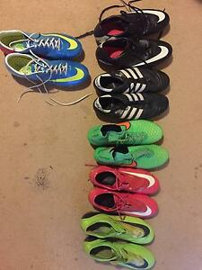 FOOTBALL BOOTS UK11 ALL ELITE BOOTS USED. SELLING INDIVIDUALLY Kearneys Spring Toowoomba City Preview