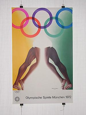 Poster Plakat - Olympiade 1972 München - Allen Jones - Pop Art