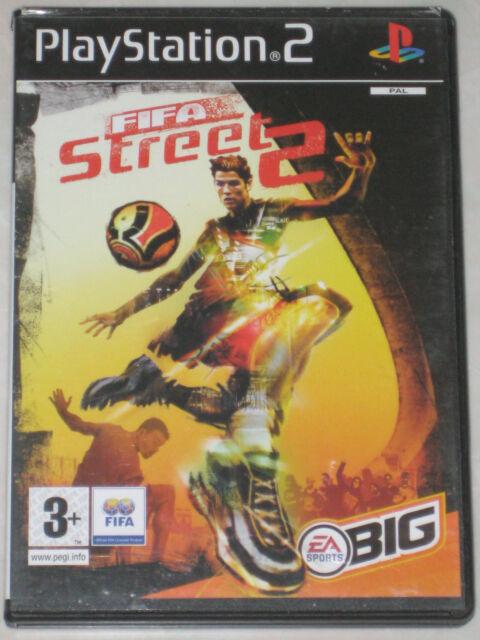 PS2 Football Game FIFA STREET 2 Czech / Hungarian / Polish PAL PlayStation 2
