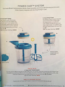 Tupperware Power Chef System
