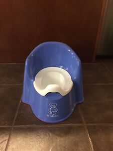 Baby Bjorn potty - blue - never used