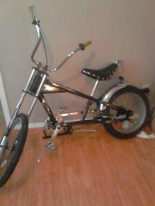 Vélo chopper à vendre 150 négociable