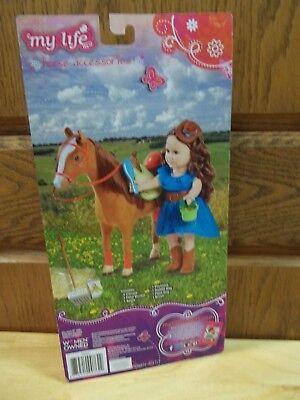 HORSE-PONY SET FOR 18 AMERICAN GIRL-BATTAT-MADAME ALEXANDER-OUR GENERATION - $16.99
