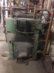 Wood Fired Hot Water Furnace
