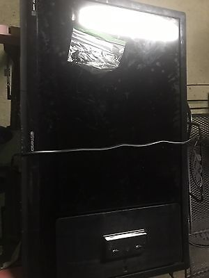 Emerson Tv, 40 inch, barely used but cracked screen, and best used for