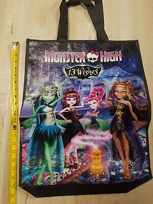 Monster High Main Characters (SDCC 13 wishes Comic Con Mattel Monster High Shopping Tote Bag Main)
