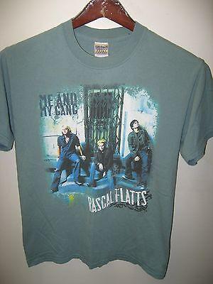Rascal Flatts 2006 Me And My Gang Country Western Band Konzert Tour T-Shirt Med - Band-konzert-tour-t-shirt