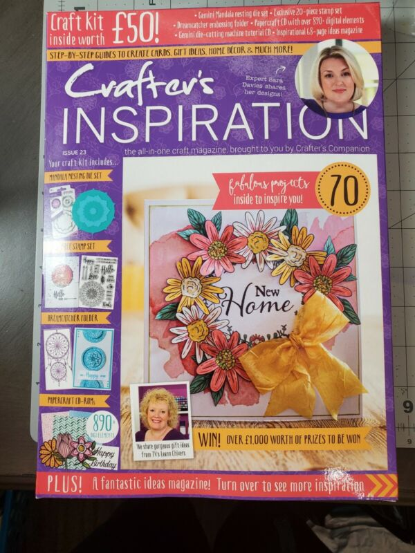 Crafters Companion Crafters Inspiration Issue 23