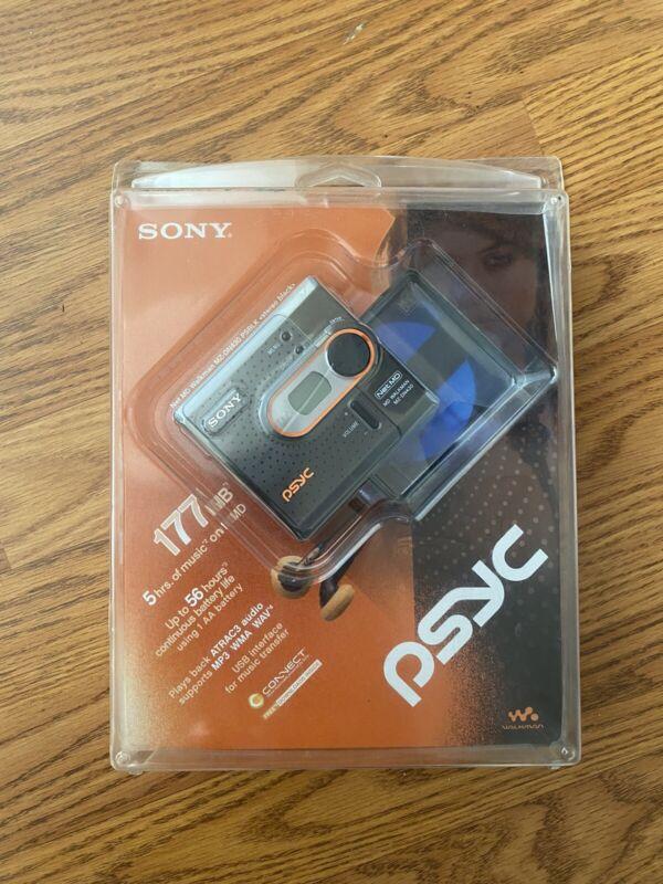 Sony MZ-DN430PSBLK Psyc MiniDisc Network Walkman - Black (MZ-DN430 PSBLK) New