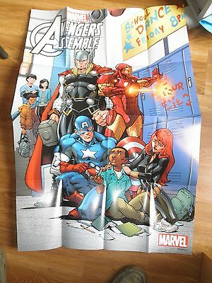 Avengers No More Bullying New Marvel Now! Promo Poster 36