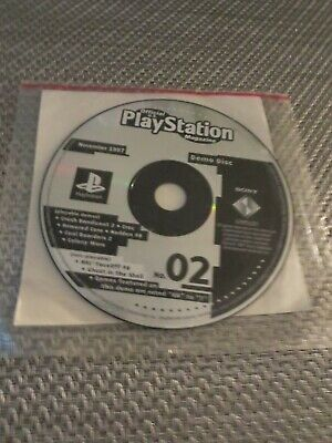 Official PlayStation Magazine Demo Disc No. 2 (# two) November 1997