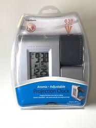 Radio Shack Atomic Projection Clock - Digital - Atomic