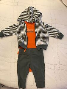 Baby boy NB 3 piece outfits
