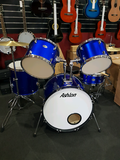 Brand new full size acoustic drumkit with stool