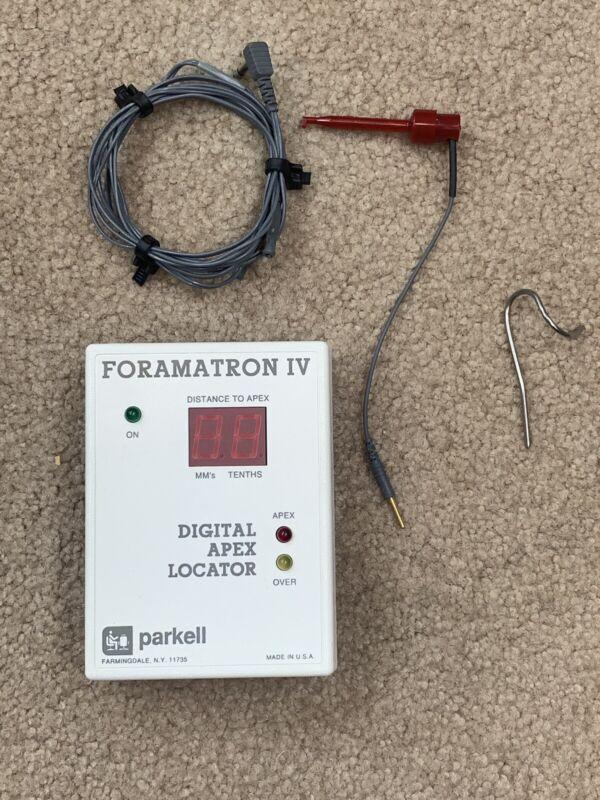 Foramatron IV  Digital Apex Locator