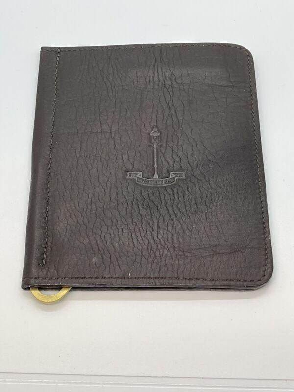 Carmel Country Club Winston Collection Leather Golf Scorecard Holder